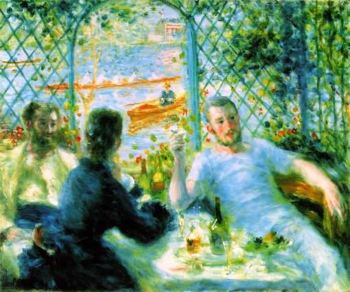Pierre-Auguste Renoir - The Canoeists Luncheon, 1879-80