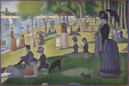 1926.224 - A Sunday on La Grande Jatte — 1884