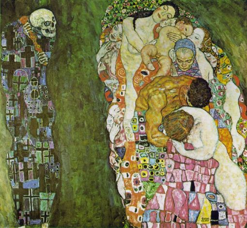 Gustav Klimt - Death and Life, 1916
