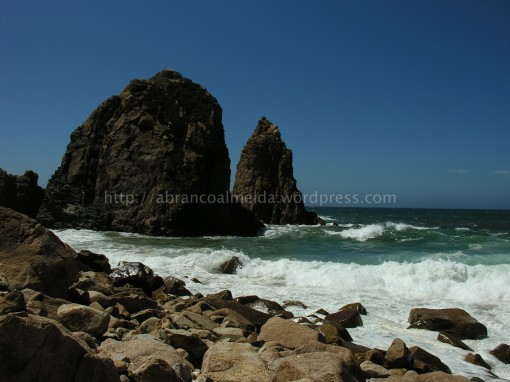 Praia da Ursa, junto ao Cabo da Roca