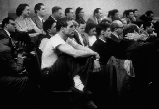 Newman at the Actors Studio, New York City, 1955. By Eve Arnold/Magnum Photos