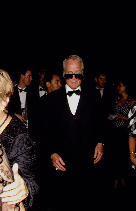 Newman attends the premiere of Martin Scorsese's The Age of Innocence, September 1993. By Rick Maiman/Corbis Sygma.