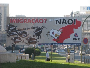 Cartaz do Partido Nacional Renovador
