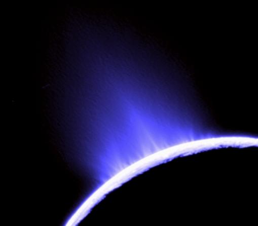 Encélado, um dos objectos mais brilhantes do Sistema Solar