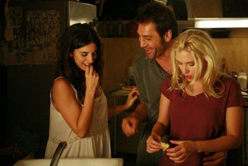Javier Bardem, Penélope Cruz e Scarlett Johansson