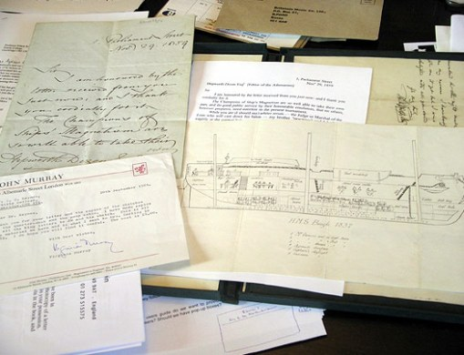 Darwin's papers on view at Down House