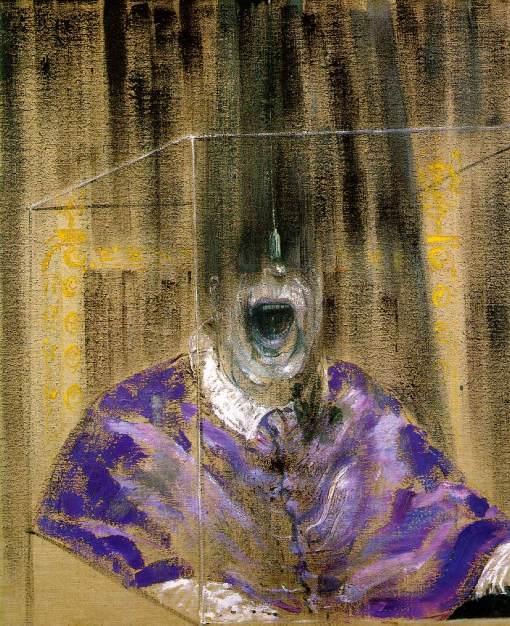 Francis Bacon - Cabeza VI, 1949