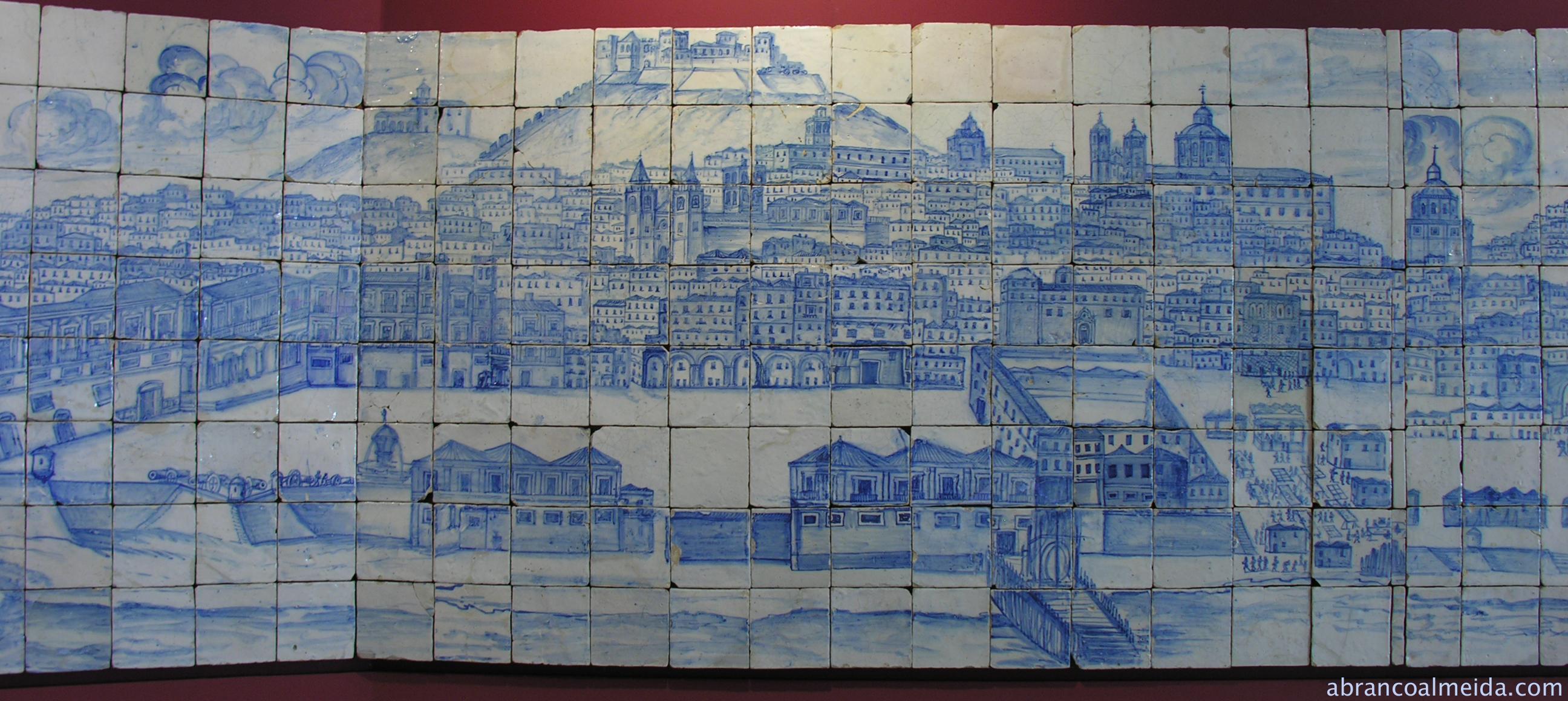 Grande panorama de lisboa azulejo o universo numa for Casa dos azulejos lisboa