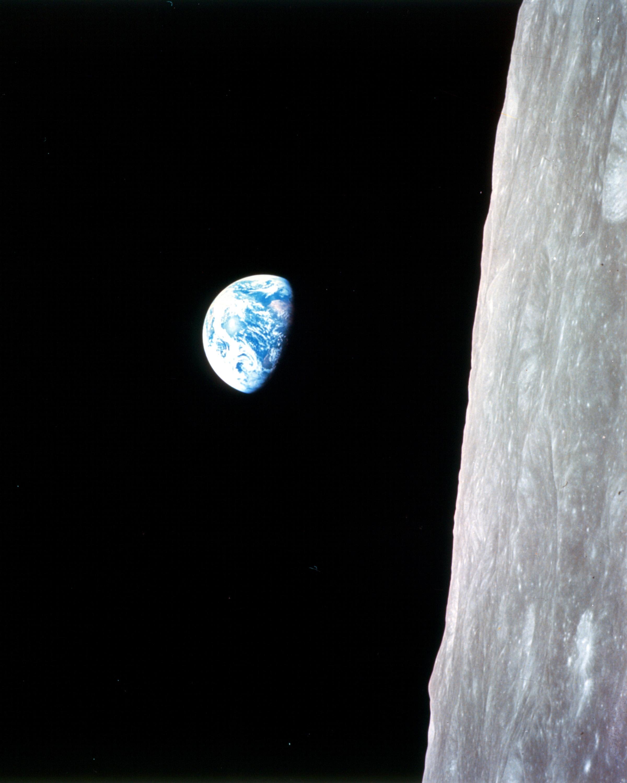 Laptop Sleeves Laptop Case Cover 12 Inch NASA Apollo 8 Earthrise Moon Lunar Orbit Photo Laptop Sleeve