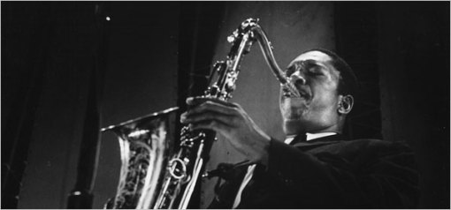 John Coltrane in concert in 1960, seven years before his death
