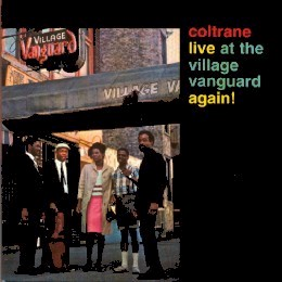 john coltrane village vanguard again cover