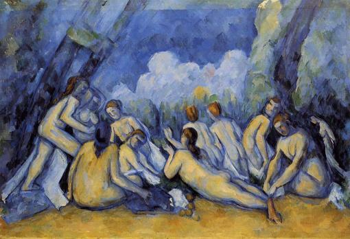 Paul Cézanne - 1839-1906 - Les Grandes Baigneuses, 1894-1905