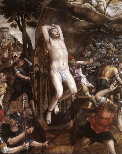 Michiel van Coxcie - The Torture of St George, 1580s