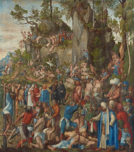 Albrecht Dürer - Marter der zehntausend Christen - 1508