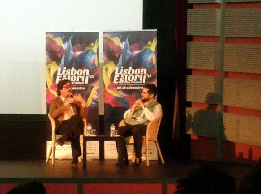 Roman Coppola e Paulo Branco