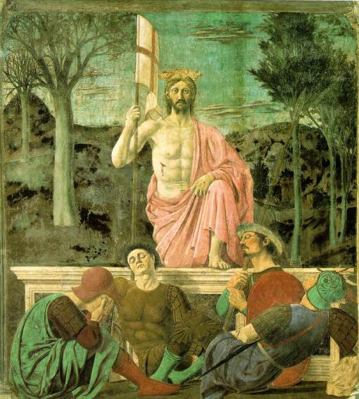 Piero della Francesca - Resurrection, 1463