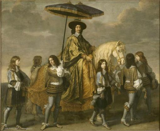 Charles Le Brun - Chancellor Séguier at the Entry of Louis XIV into Paris in 1660
