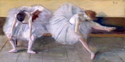 Edgar Degas - deux danseuses ca 1879